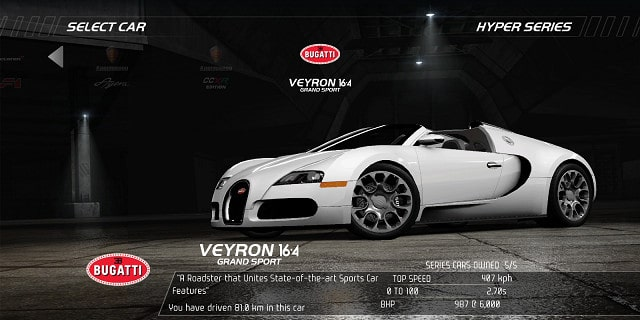 need for speed hot pursuit nfs cars bugatti veyron pictures. Black Bedroom Furniture Sets. Home Design Ideas