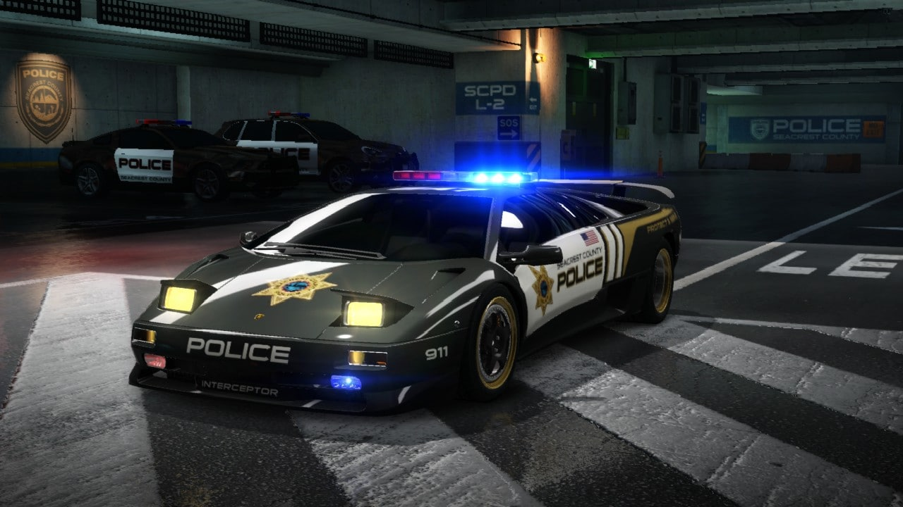 nfs hot pursuit lamborghini dlc verf gbar. Black Bedroom Furniture Sets. Home Design Ideas