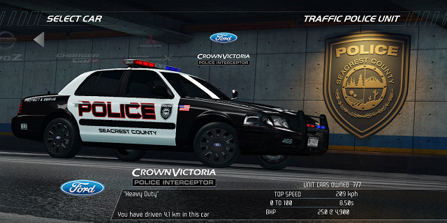 Need For Speed Hot Pursuit Fahrzeuge Traffic Police