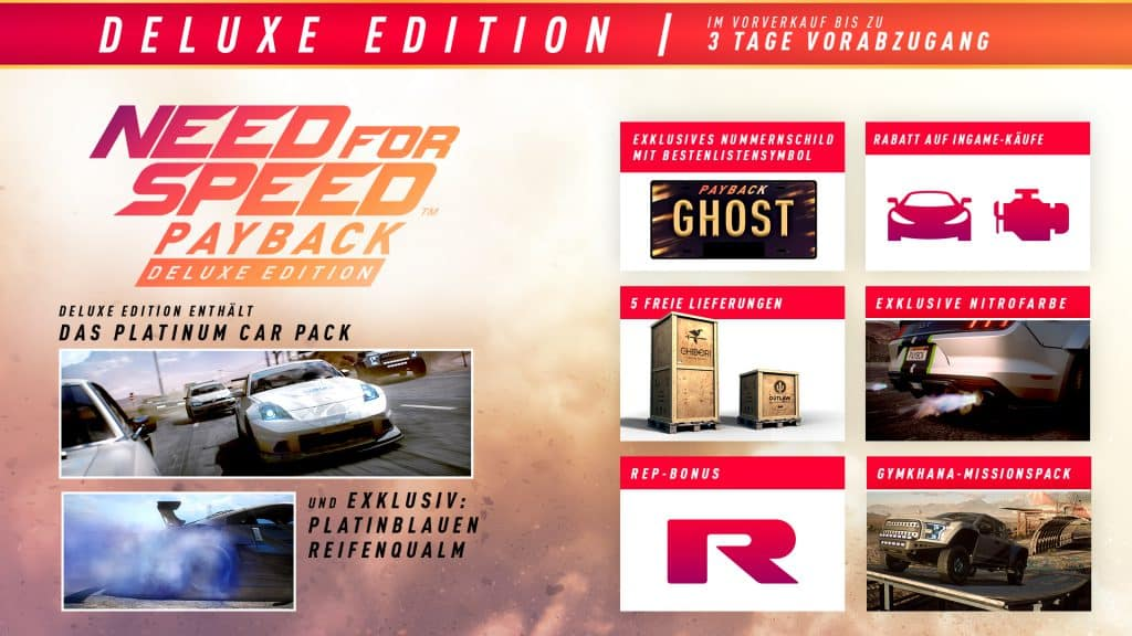 NFS: Payback - Deluxe Edition