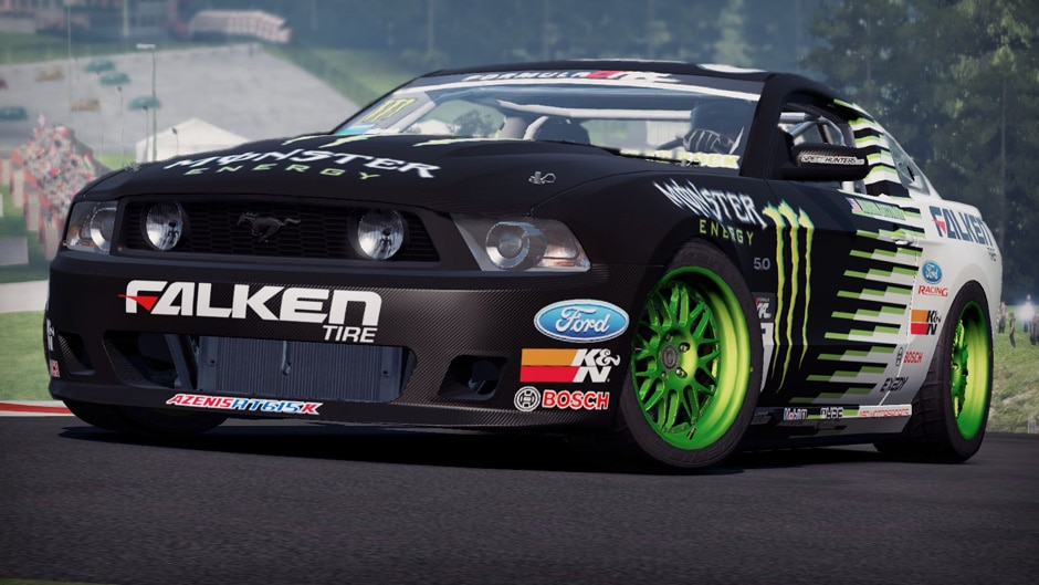 Monster Energy/ Falken Tire Ford Mustang GT